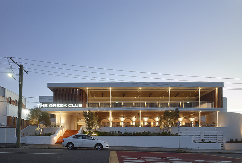 The Greek Club by KP Architects